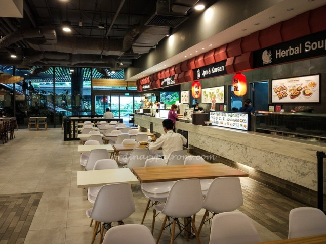 Cookhouse Food Court at Marina One