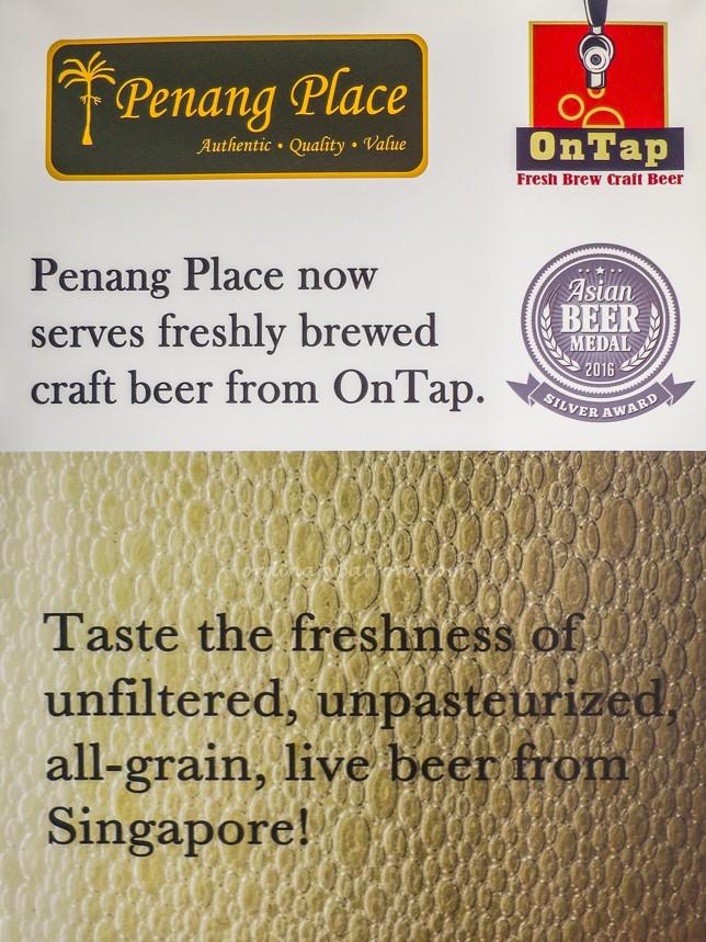 Penang Place Beer