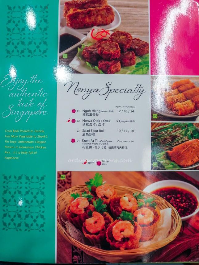 Pow Sing Restaurant Menu