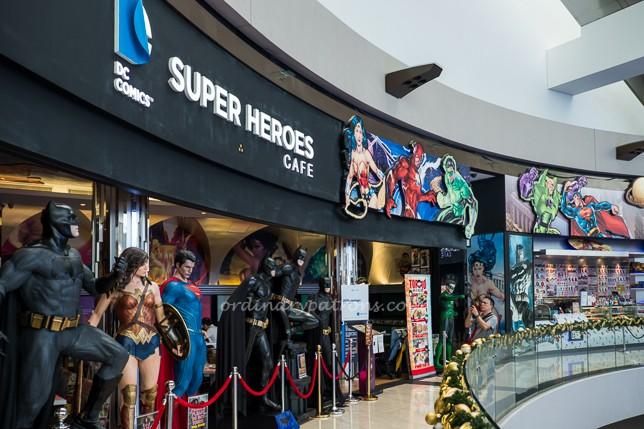 DC Super Heroes Cafe MBS