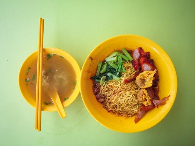 Tanjong Rhu Wanton Noodle Dry