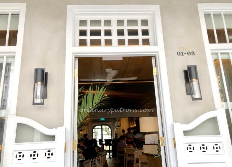 Olivia Spanish Restaurant Keong Saik
