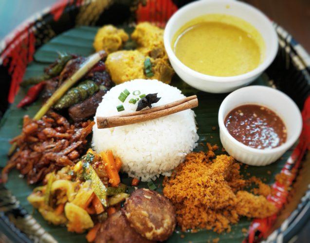 Nasi Ambeng at Flame Cafe - Ramadan dining promotions