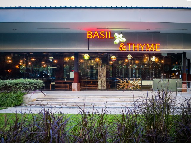 Basil & Thyme - new restaurant by the sea