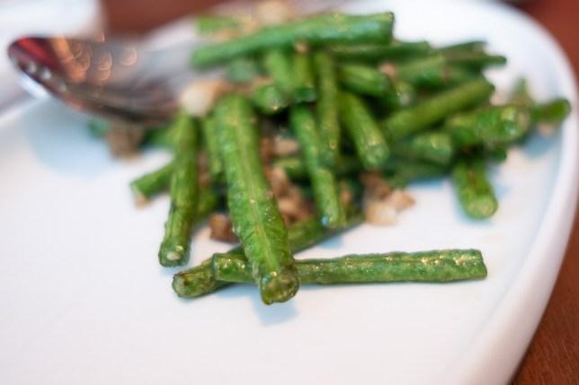 JÙN Restaurant - Long Beans with Minced Pork