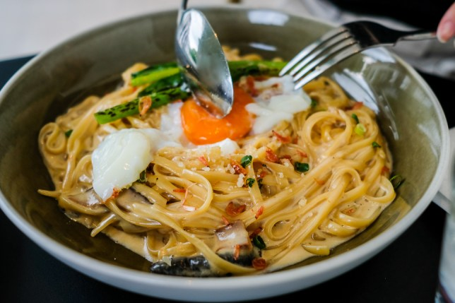 Alkaff Mansion Wildseed Café Linguine