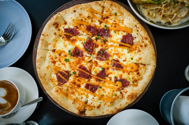Wildseed Cafe Bak Kwa Pizza