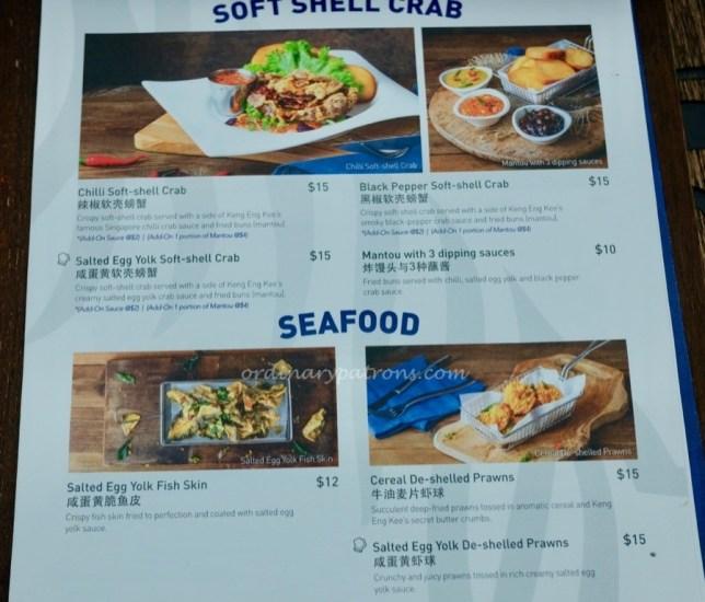 Tiger Street Lab Jewel menu