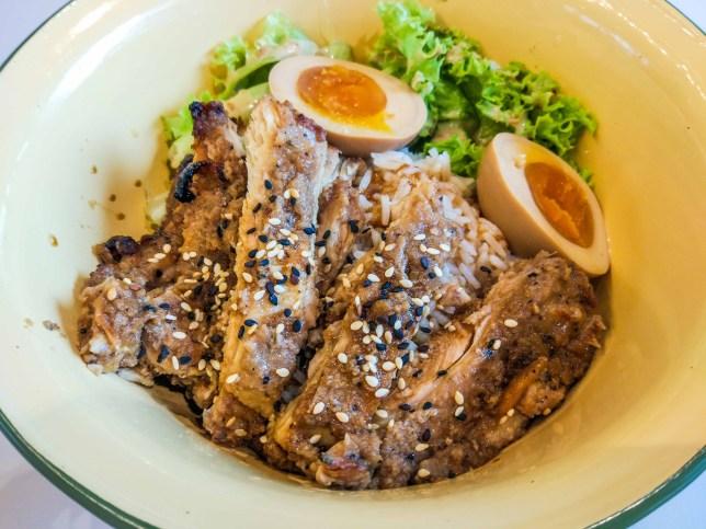 Yang Coffee & Toast Abodo Chicken Rice