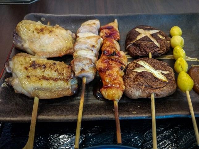 Hibiki Sake Bar & Dine  Yakitori Set