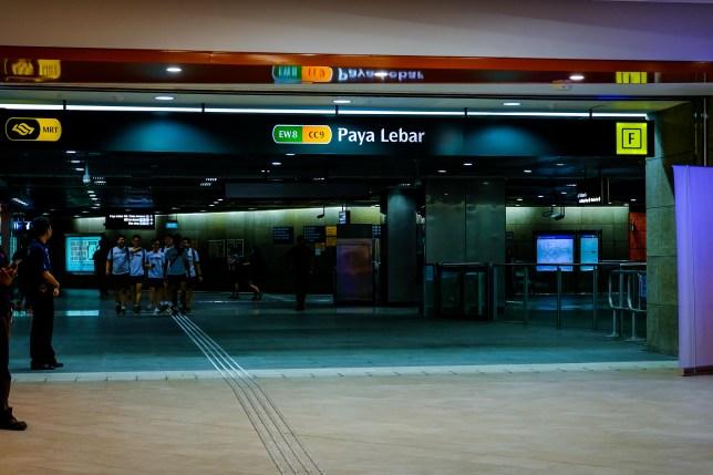 PLQ and Paya Lebar MRT Station