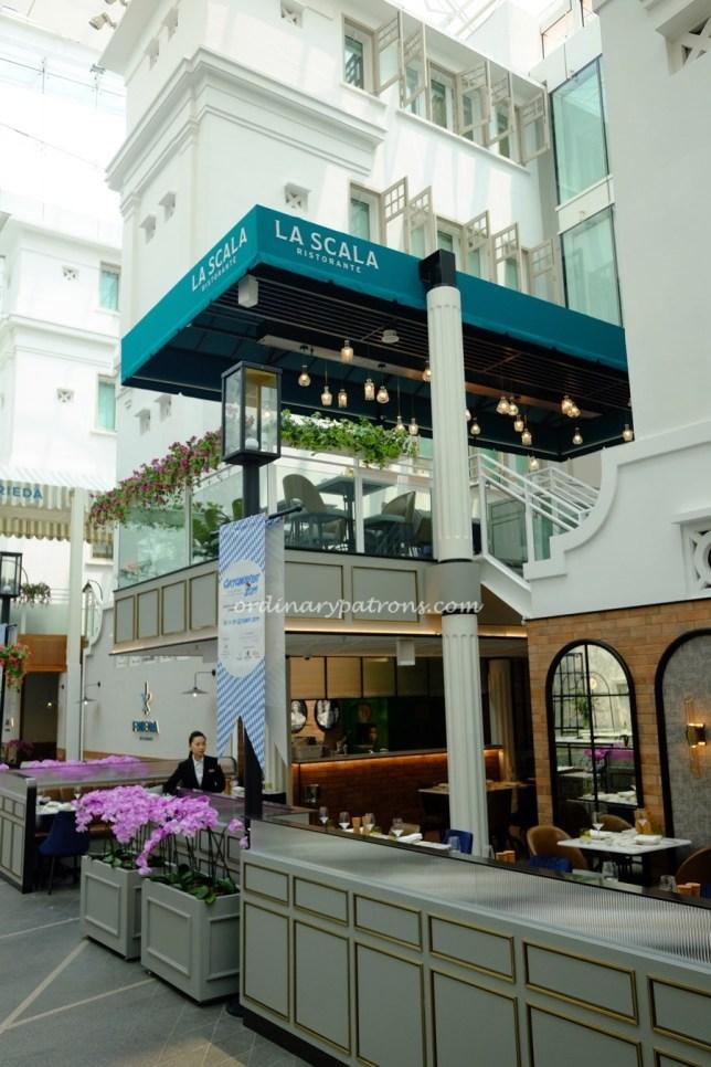 La Scala Ristorante - new Italian restaurant at Capitol Kempinski / Capitol Piazza