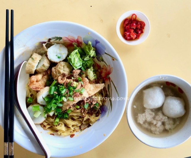 Tom's City Zoom Mee Pok Tar @ Ghim Moh Market