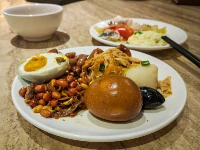Teochew Porridge Buffet  at Man Le