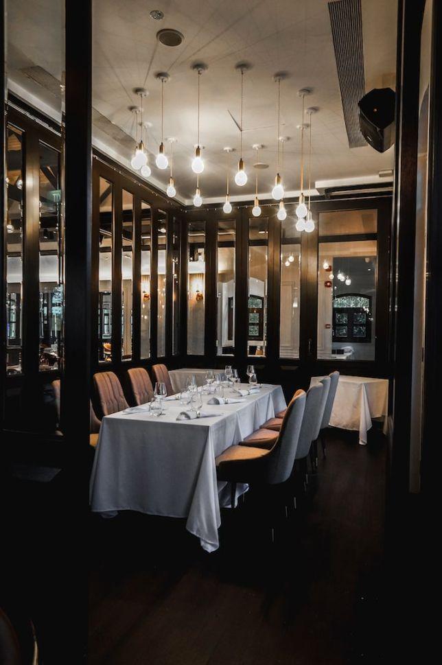 UNA - private dining room