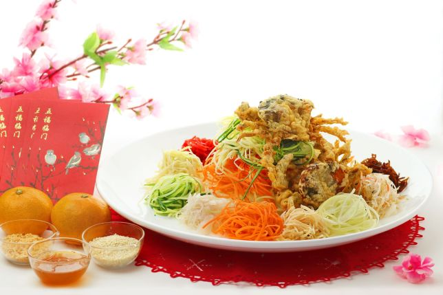 Prosperous Soft Shell Crab Yusheng of Soi Thai Soi Nice