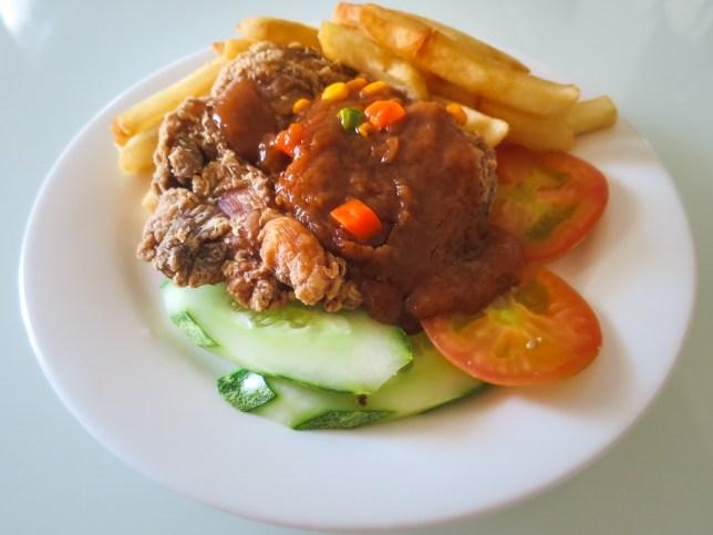 Hainanese Chicken Chop - PappaRich Singapore