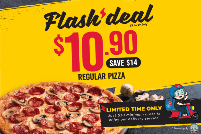 Snag a Domino's Pizza at just $10.90
