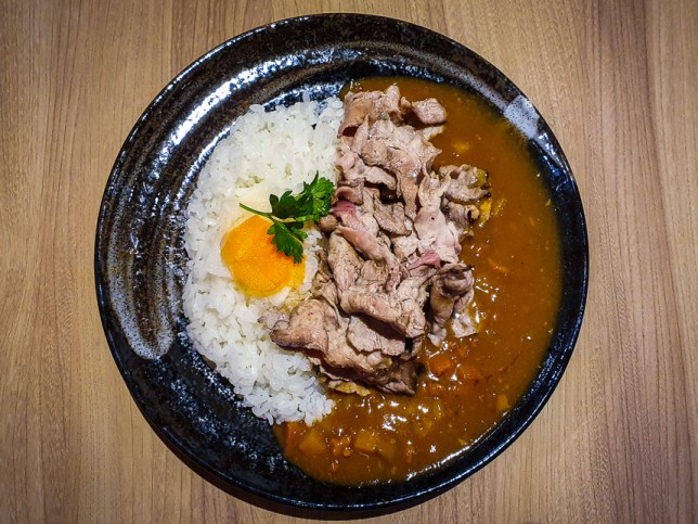 Iberico Belly Curry Rice  at Gochi-So Shokudo