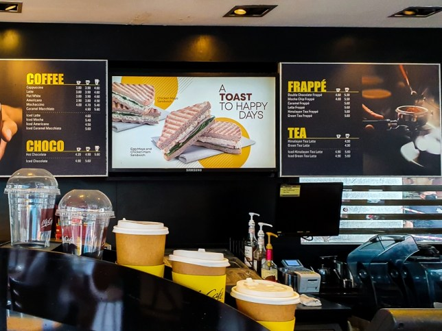McCafé Sandwiches & Coffee