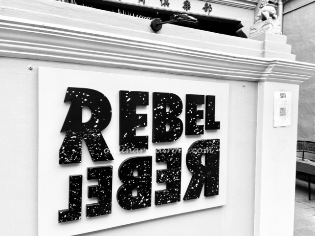 Rebel Rebel Wine Bar Singapore Keong Saik