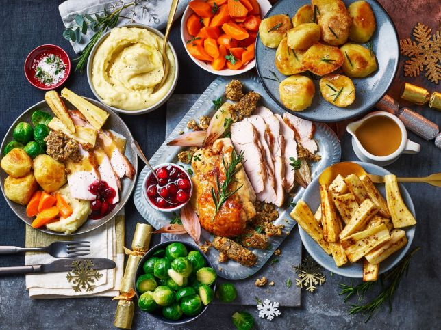 Marks & Spencer's Christmas Food Selection