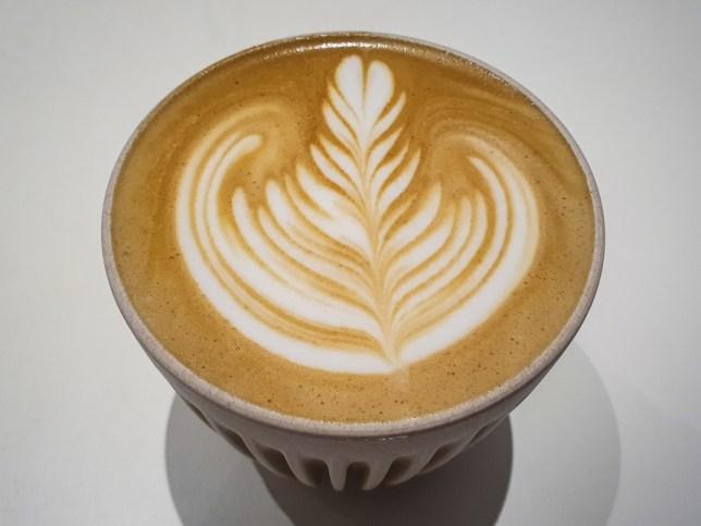 coffee made with La Marzocco expresso