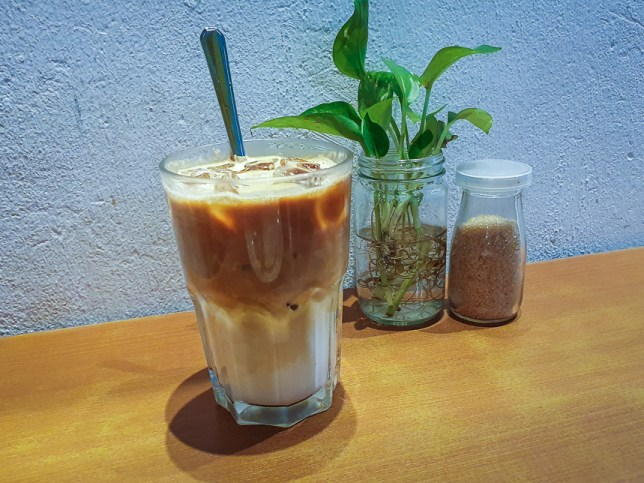 Two Bakers iced coffee