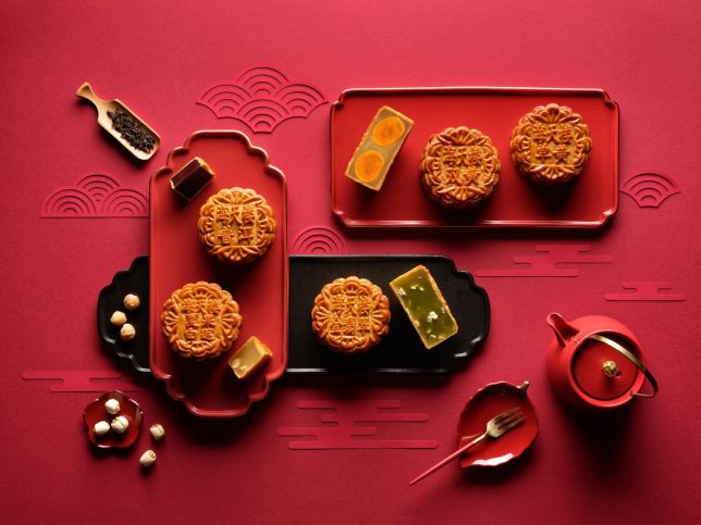 Hai Tien Lo's Traditional Baked Mooncakes for Mooncake Festival 2021 Singapore