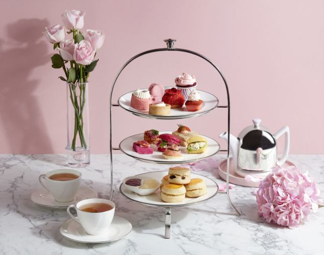 The Fullerton Hotels Singapore Present the Pink Afternoon Tea