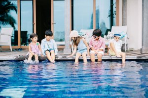 Ordinary People - Children's Style by the Pool