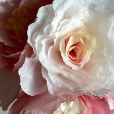 handdyed paper rose