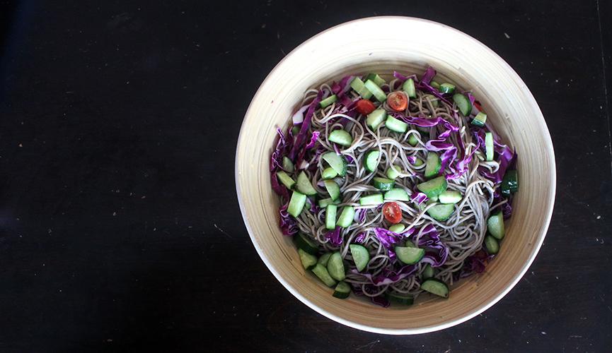 Buckwheat/Soba Noodle Salad