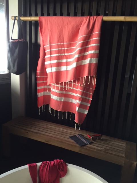 Bo-Ya Creation Fouta in the Bathroom
