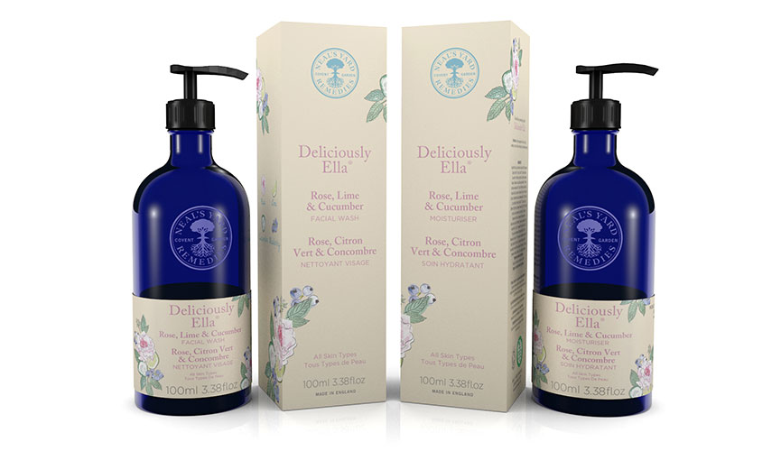 Deliciously Ella and Neals Yard Remedies Line up