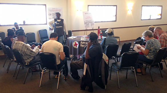 Ordinary People International and American Red Cross Team Firestopper Fire Safety Fair