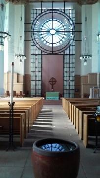Inside Saint Mark's.