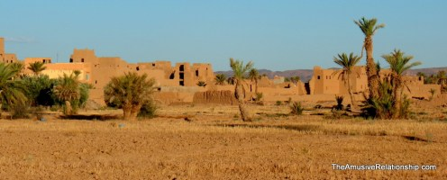 A ksar from afar