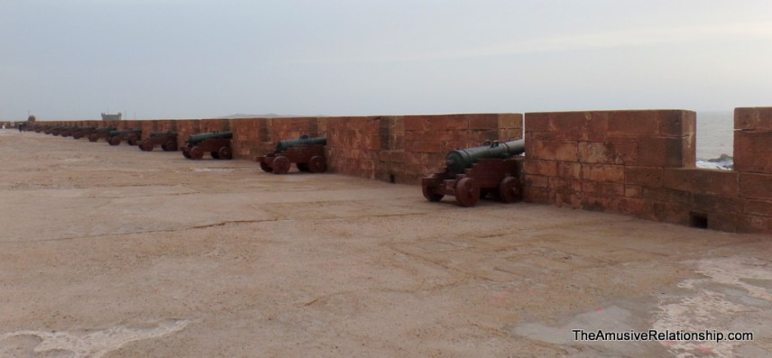 Ramparts and cannons