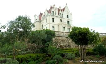 A vineyard chateau