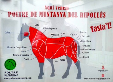 Yum, horse meat