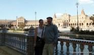 Us at the Plaza de Espana