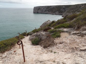 Cliffside steps