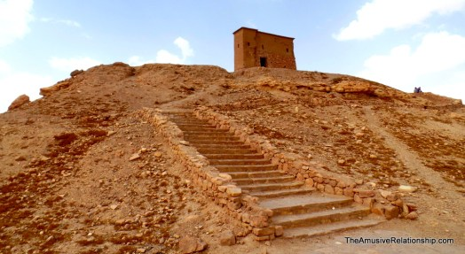 Steps to the granary
