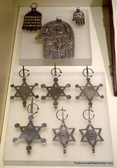 Jewish Amazigh-style pins