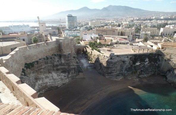 The oldest part of the citadel dating from the 14th century