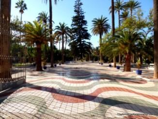 The town rambla