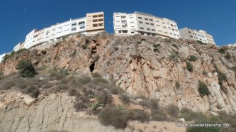 Cliff-side homes