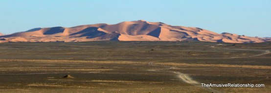 Dunes in the distance