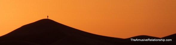 The dunes at sunrise